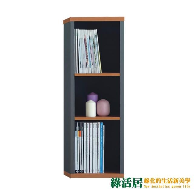 【綠活居】赫爾   現代1尺三格收納櫃