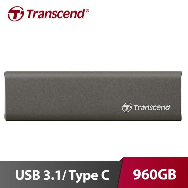 【Transcend 創見】ESD250C 960GB 行動固態硬碟(TS960GESD250C)