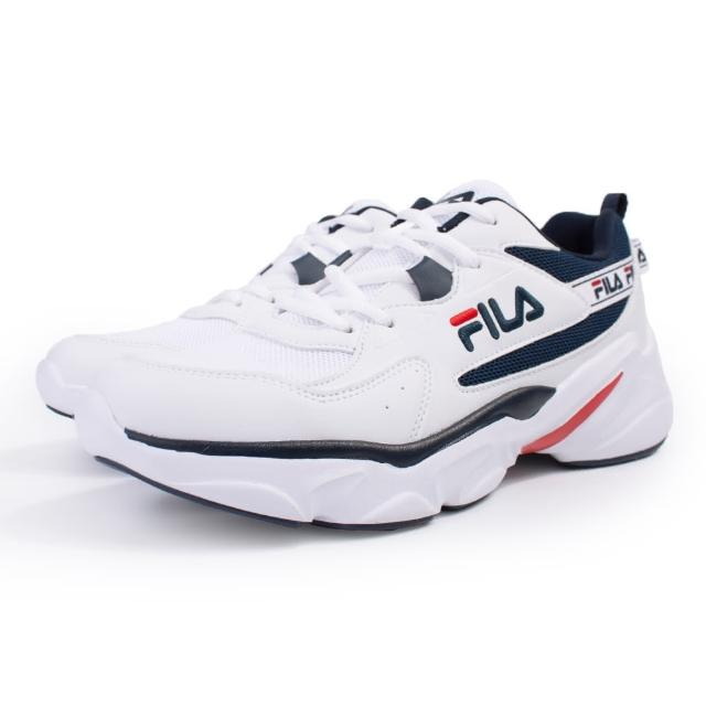 【FILA】HIDDEN TAPE 運動鞋 男鞋-白(1-J329U-133)