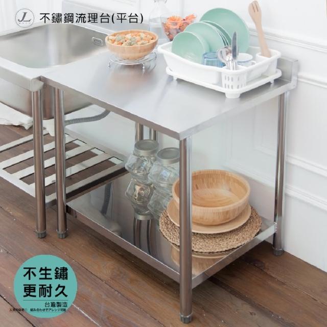 【kihome奇町美居】不鏽鋼流理台平台-長72cm