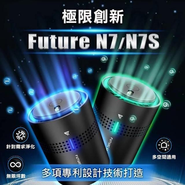 【Future Lab. 未來實驗室】N7負離子空氣清淨機+N7S奈米活氧空氣清淨機