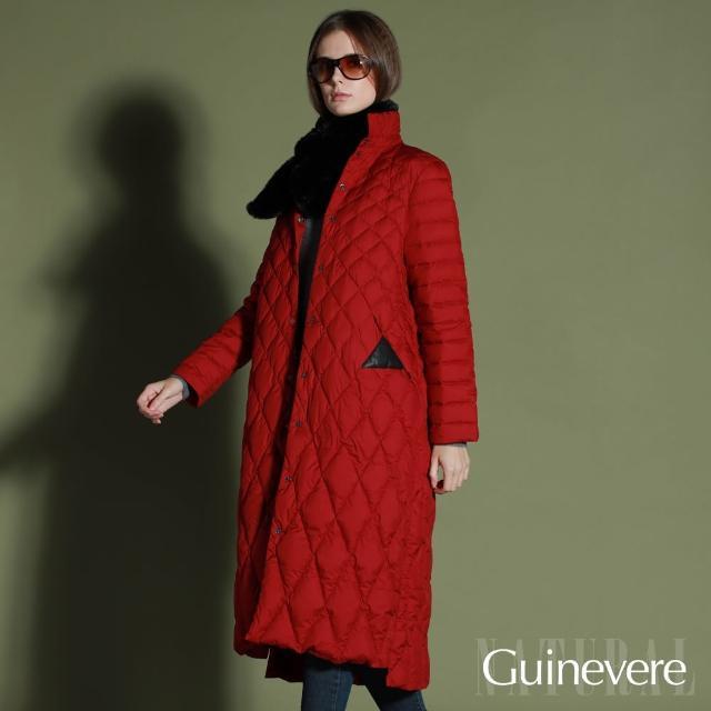 矜蘭妃-輕暖超顯瘦羽絨長外套