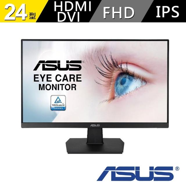 【ASUS 華碩】VA24EHE 24型 IPS 液晶螢幕