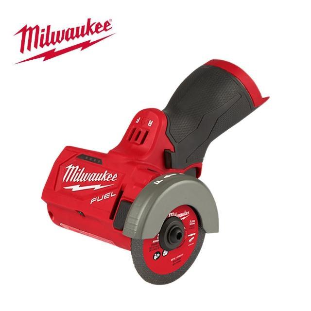 "【Milwaukee 美沃奇】12V鋰電無刷3""砂輪機-空機-不含電池及充電器(M12FCOT-0X)"