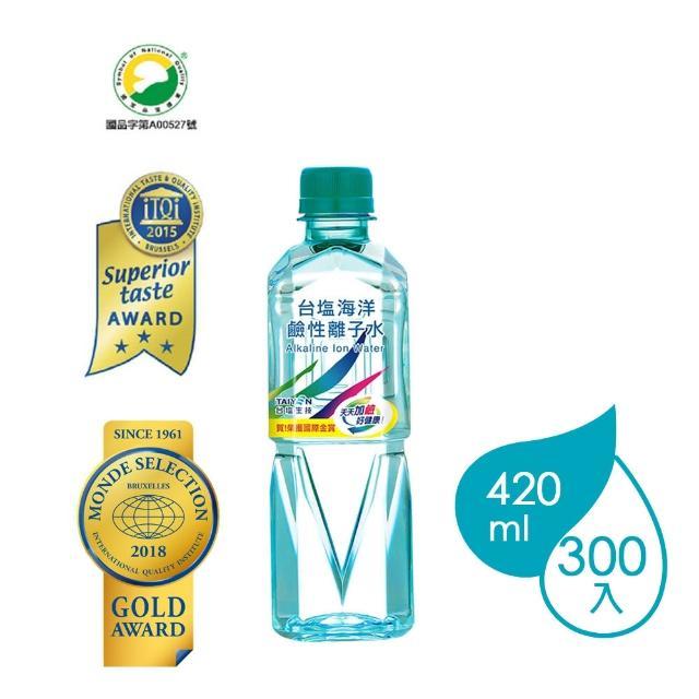 【台鹽】海洋鹼性離子水(420mlx30瓶x10箱)