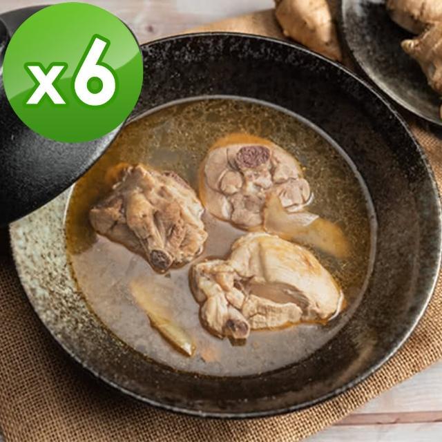 【阿圖】麻油雞(600g±5%/包)x6包/組