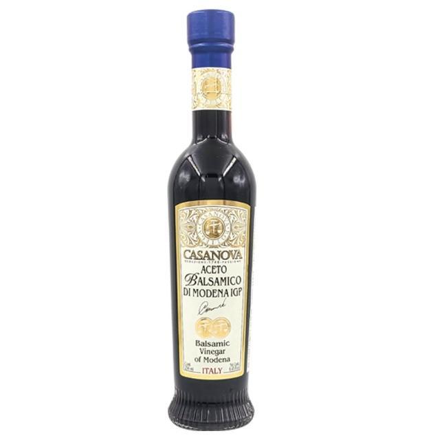 【Casanova】卡薩諾瓦IGP巴薩米克陳年紅葡萄醋4年250ml(台灣總代理原瓶原裝進口)