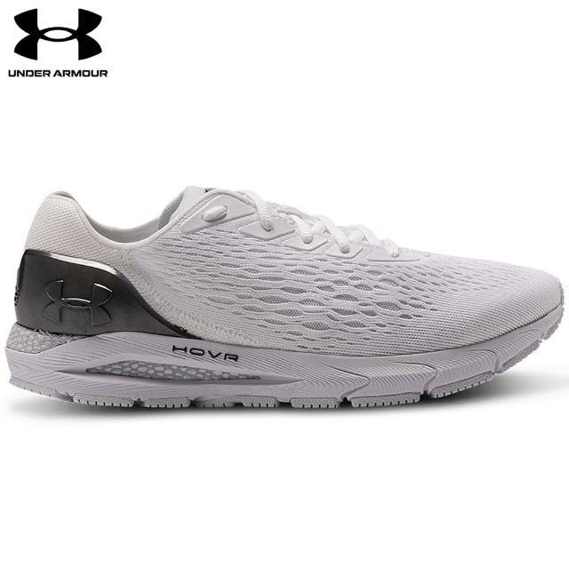 【UNDER ARMOUR】UA 男 HOVR Sonic 3慢跑鞋_3023936-100(白色)