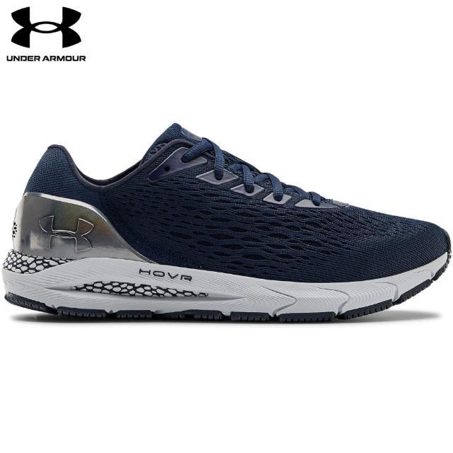 【UNDER ARMOUR】UA 男 HOVR Sonic 3慢跑鞋_3023936-400(學院藍)