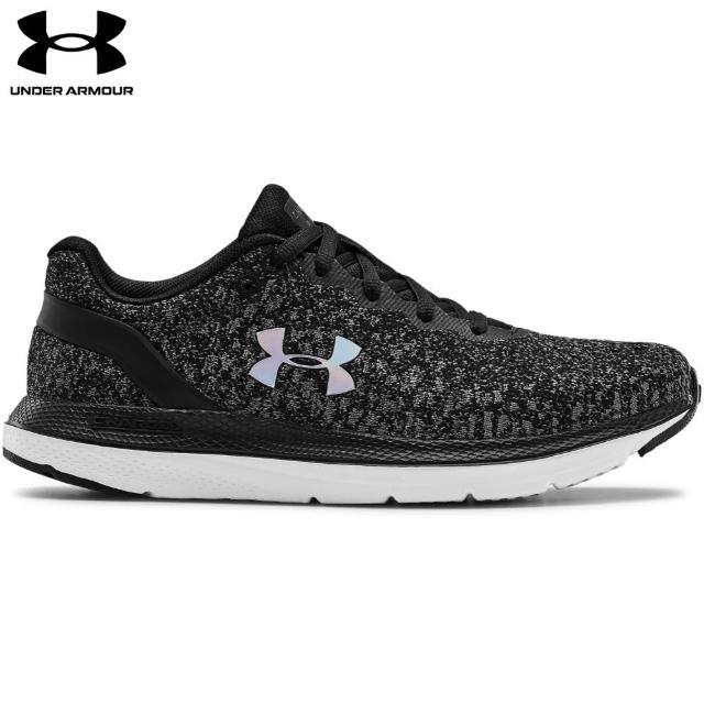 【UNDER ARMOUR】UA 女 Charged Impulse Knit慢跑鞋_3022603-001(黑)