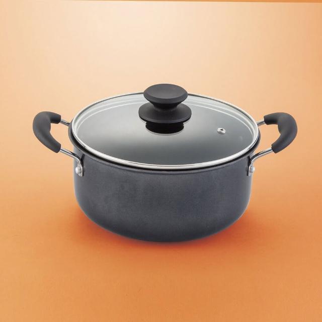 【NITORI 宜得利家居】IH雙耳鍋 SOFTGRIP 22cm(鍋子 雙耳鍋)