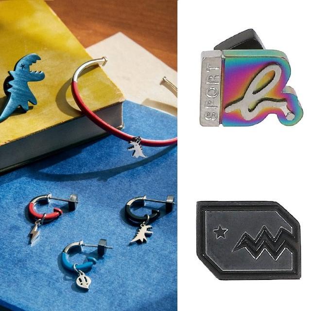 【agnes b.】Sport b. 經典單耳耳環/項鍊(多款任選)